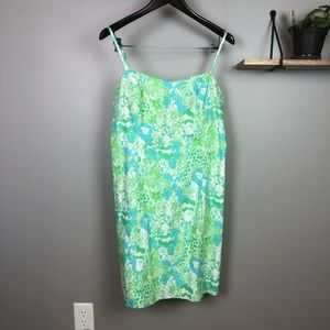 Lilly Pulitzer McCallum Dress It's A Zoo Size 12